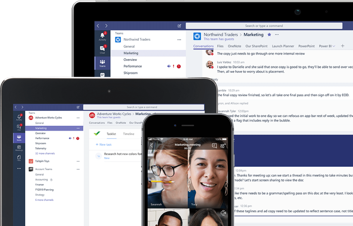 4 Tips for working from home with Microsoft Teams